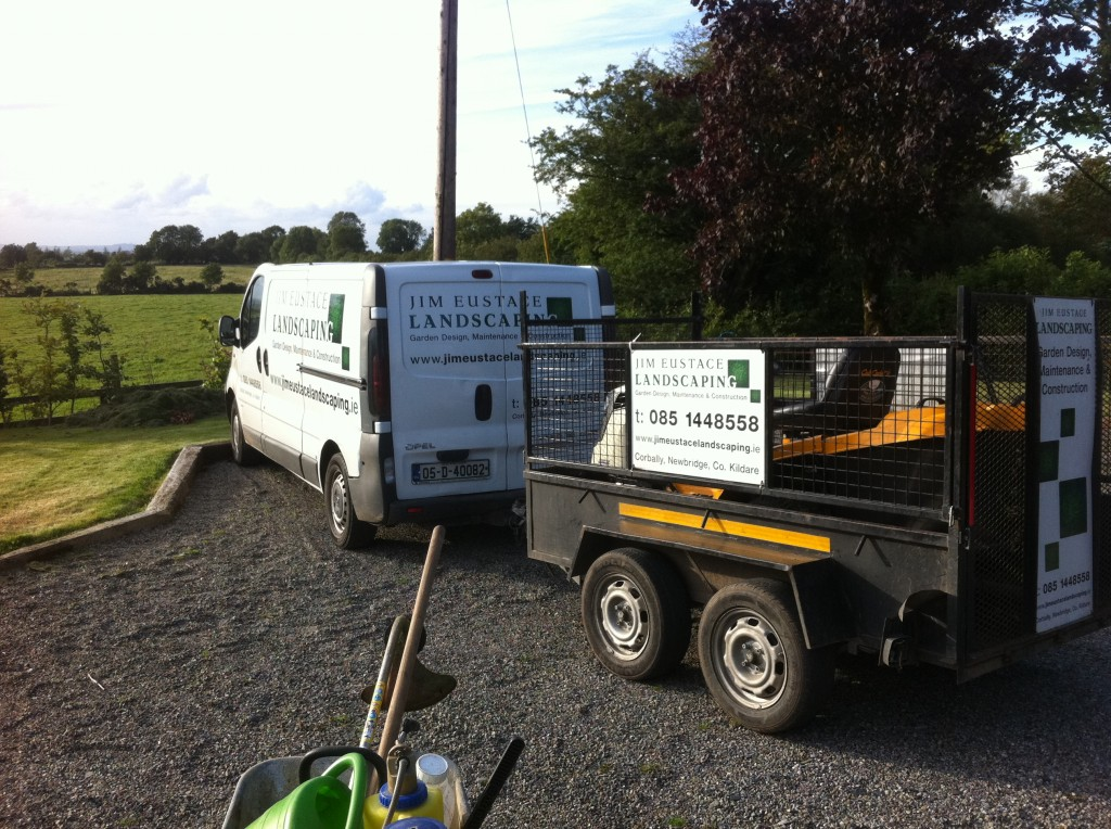 Jim Eustace Landscaping Newbridge