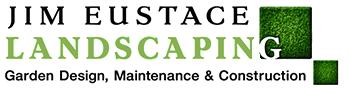 Jim Eustace Landscaping logo